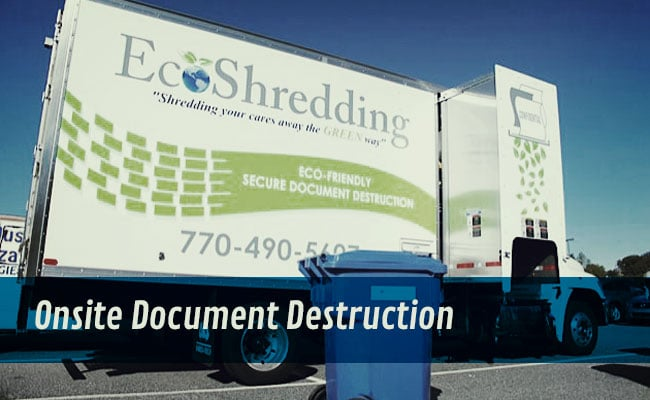 EcoShredding Truck