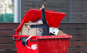 Retail Store Thefts Target of Dumpster Divers