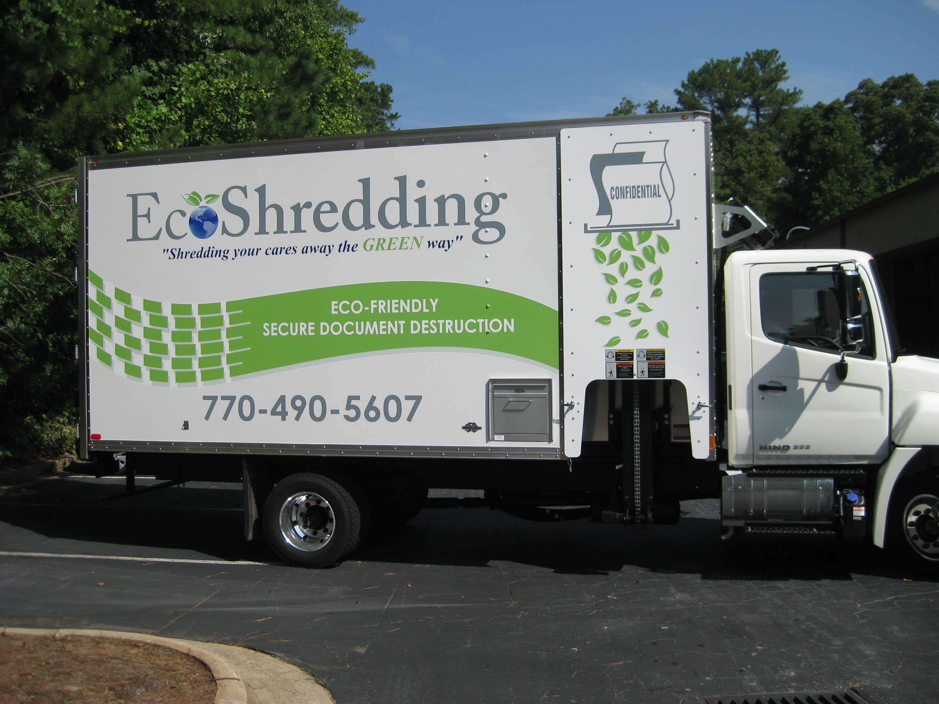 New Ecoshredding truck 3